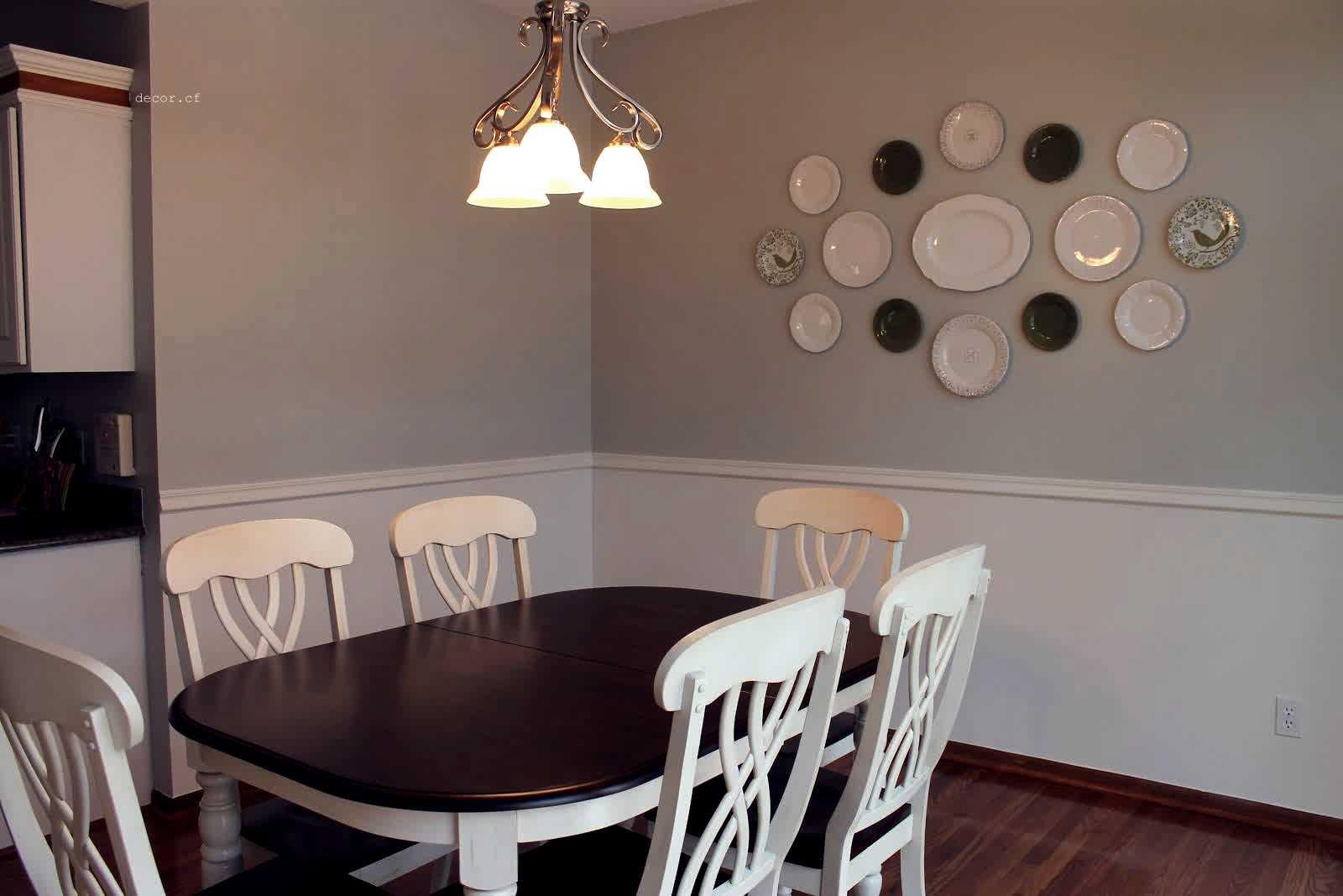 Декор стены на кухне над обеденным столом: как оформить и украсить, фото варианты