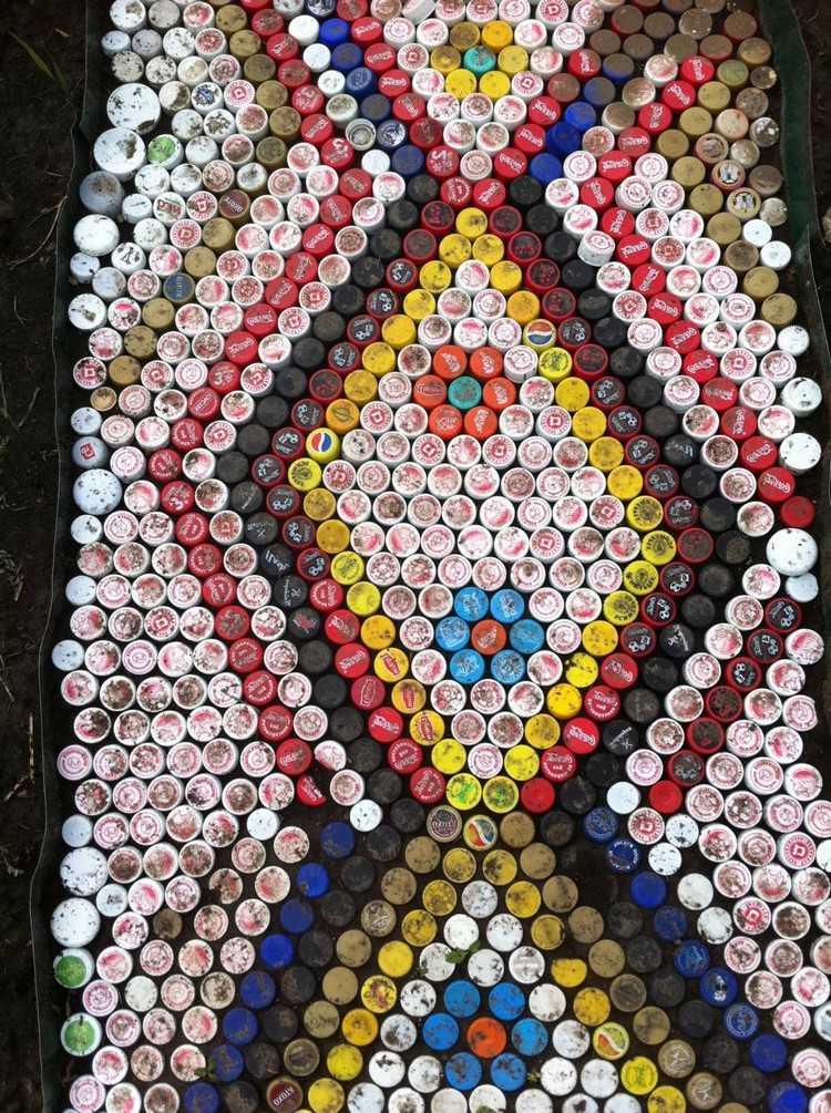 что можно сделать из пластиковых пробок фото йога