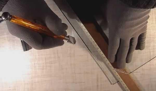 Стеклянный стол своими руками: правила изготовления