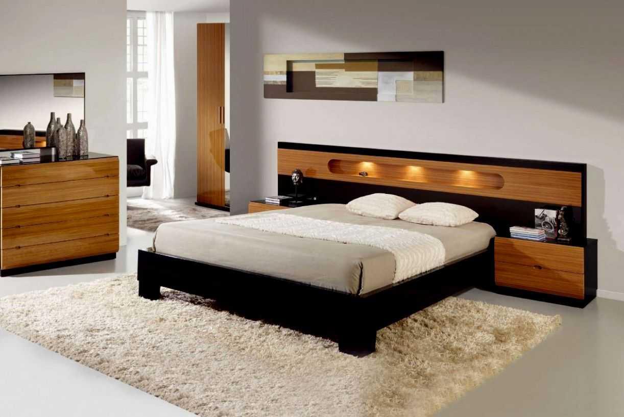 Кровать в спальню — лучшие места для установки односпальных и двуспальных кроватей (70 фото)