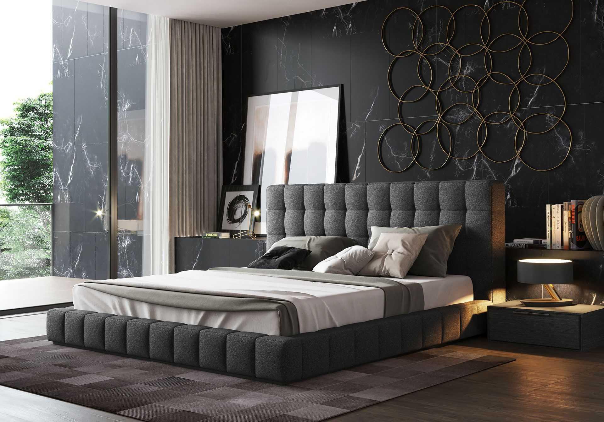 Двуспальная кровать: фото, виды, формы, дизайн, цветовая гамма, стили