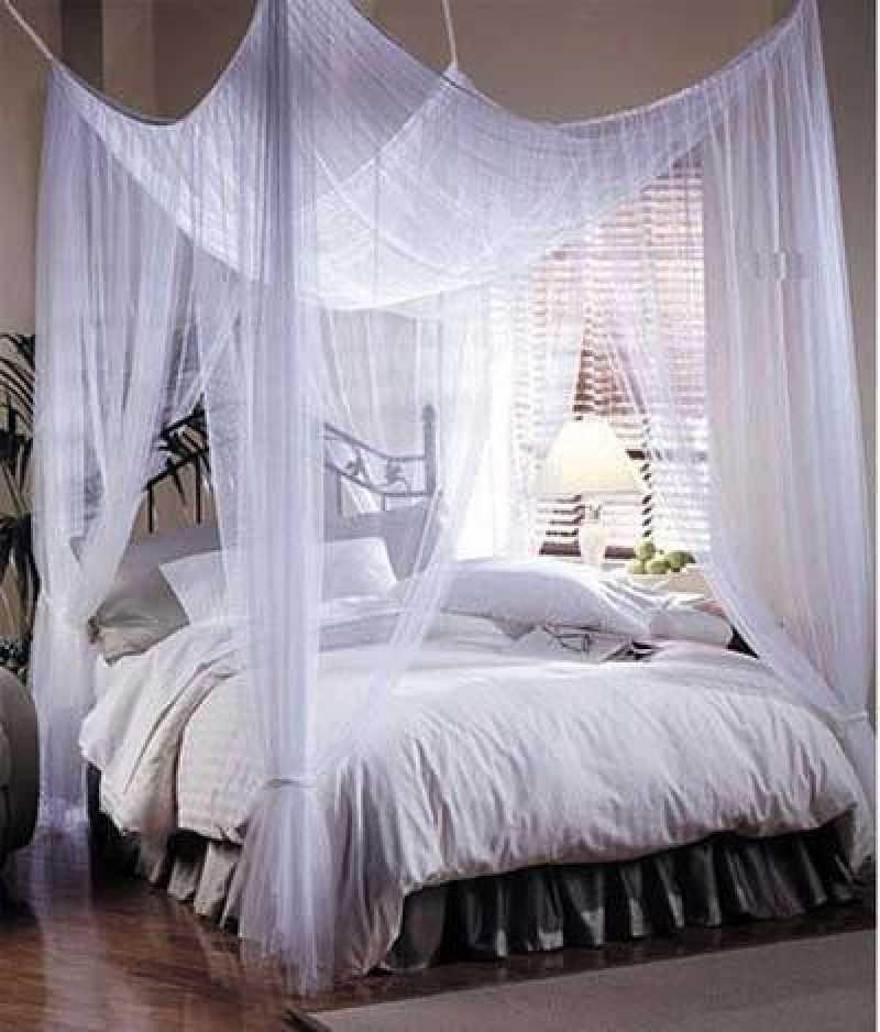 Кровать с балдахином в спальне: какие бывают, зачем нужны и правила выбора