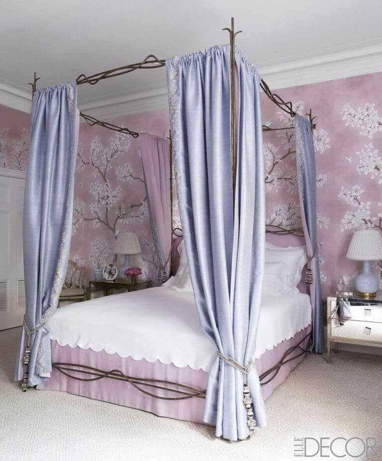 Дизайн изголовья кровати — более 20 способов
