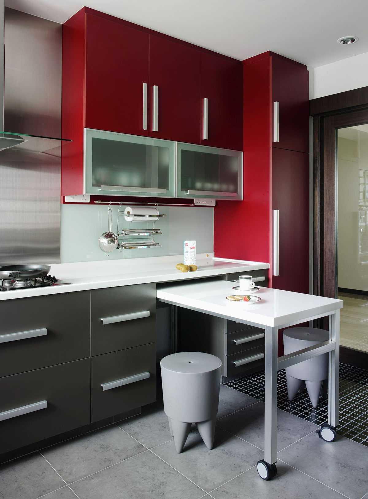 Кухонный гарнитур для маленькой кухни: 35 фото и идеи дизайна