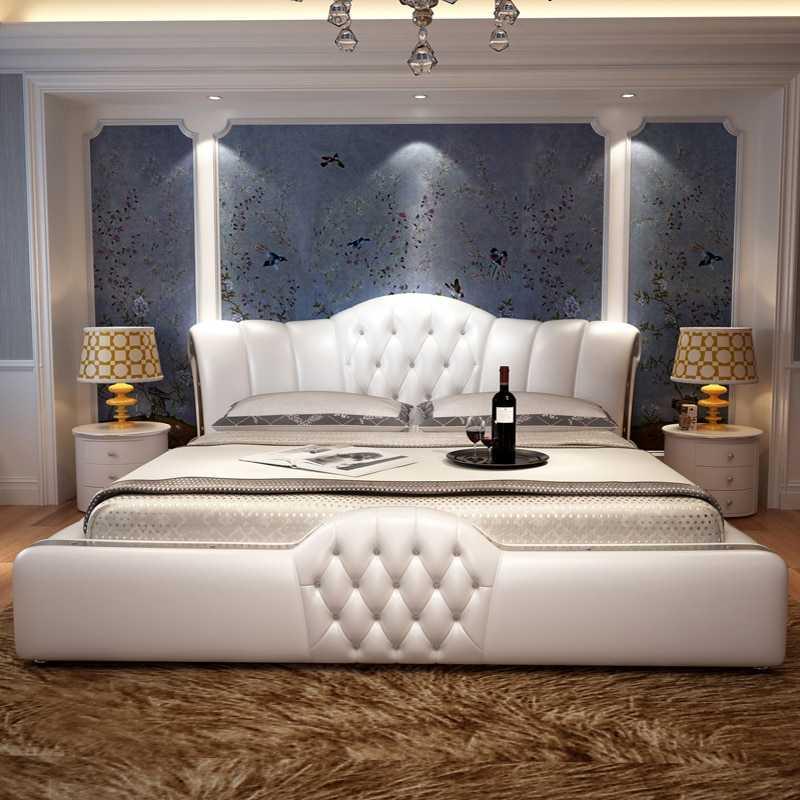 Кровать в спальню — обзор рекомендаций по выбору + 55 фото примеров в интерьере