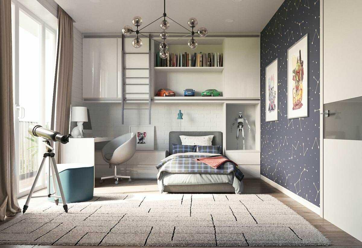 Дизайн комнаты для подростка - интересные идеи интерьера на фото