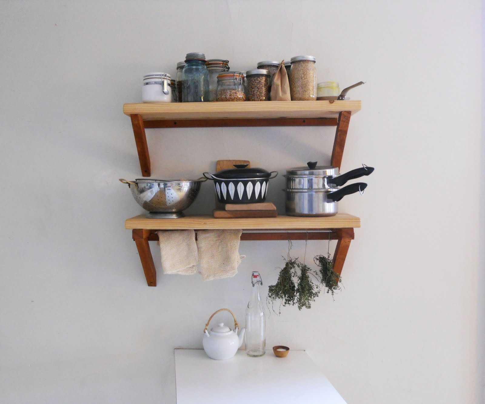 kitchen wall shelves - HD1600×1333