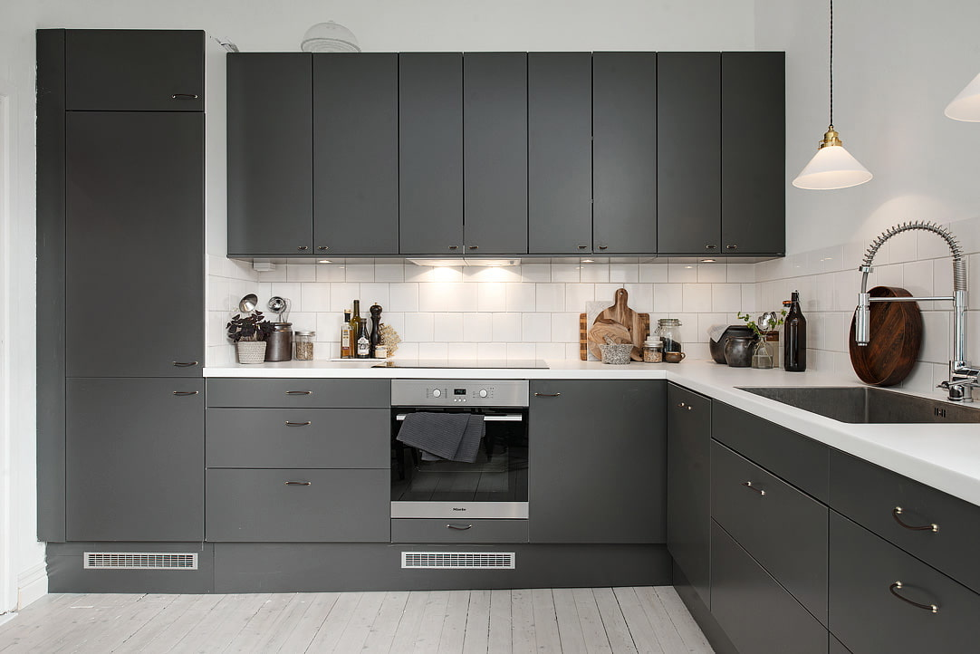 Дизайн кухни в коричневом цвете - оформления интерьера, сочетание цвета, фото примеры