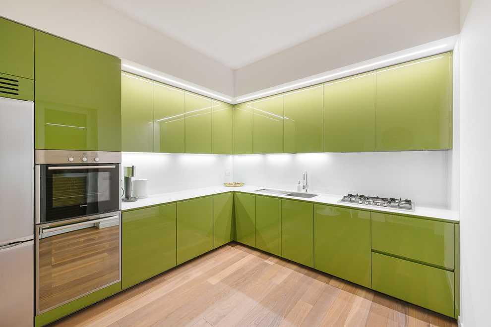 Фисташковая кухня - фото. фисташковый цвет в интерьере кухни
