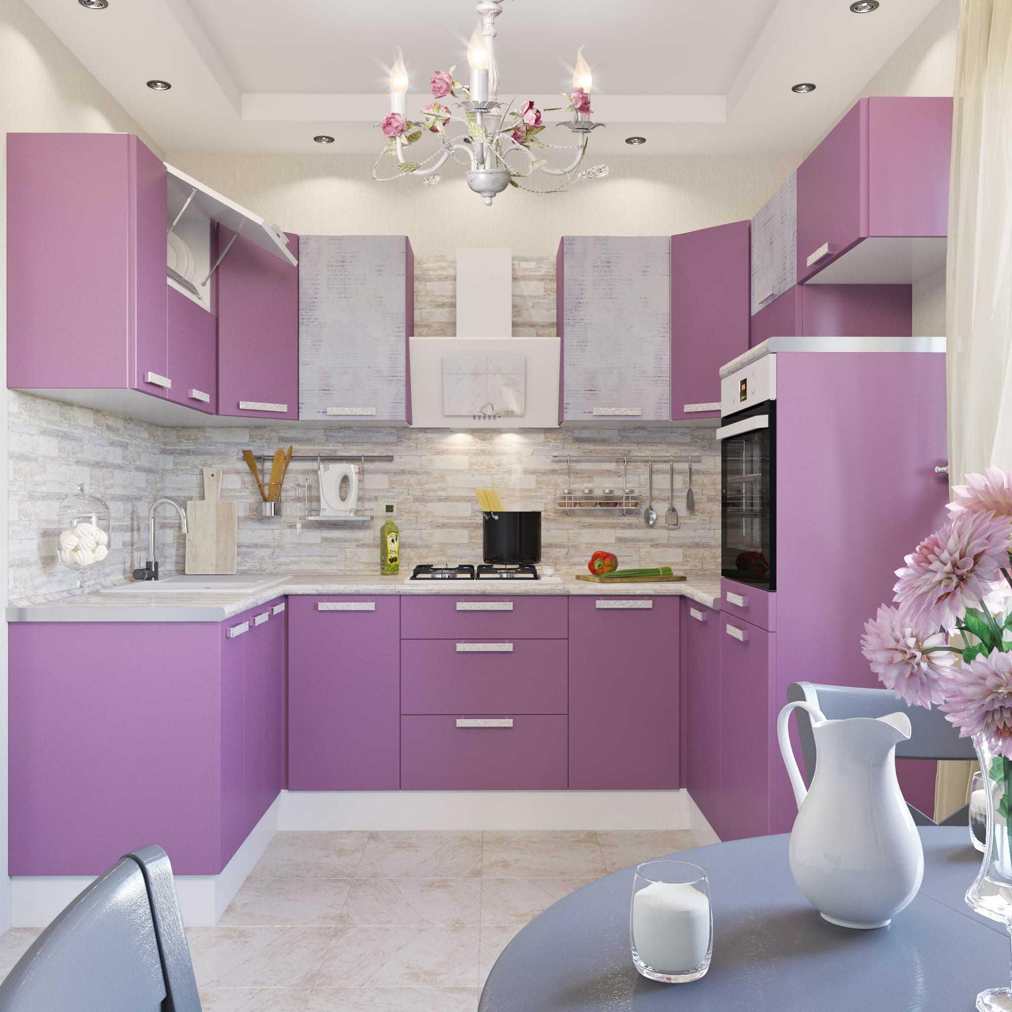 кухня слива лаванда примеры дизайн фото поиска запросу юбки