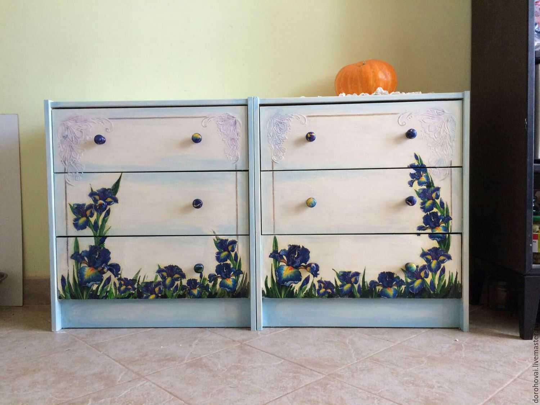 клиент видит рисунки на мебели своими руками фото соболином озере