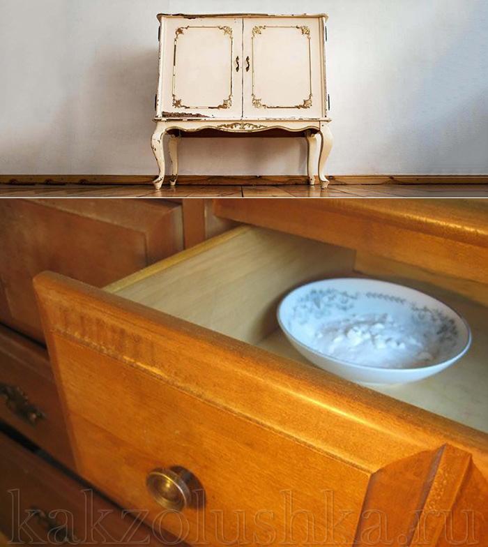 Чем помыть новую мебель