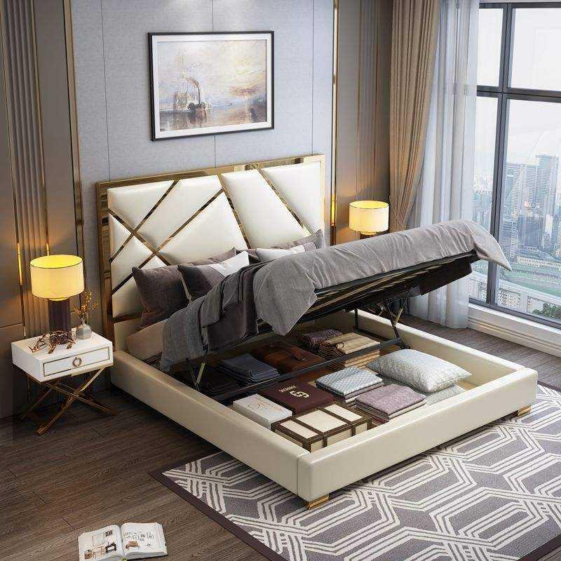 Двуспальная кровать — фото традиционных и эксклюзивных вариантов