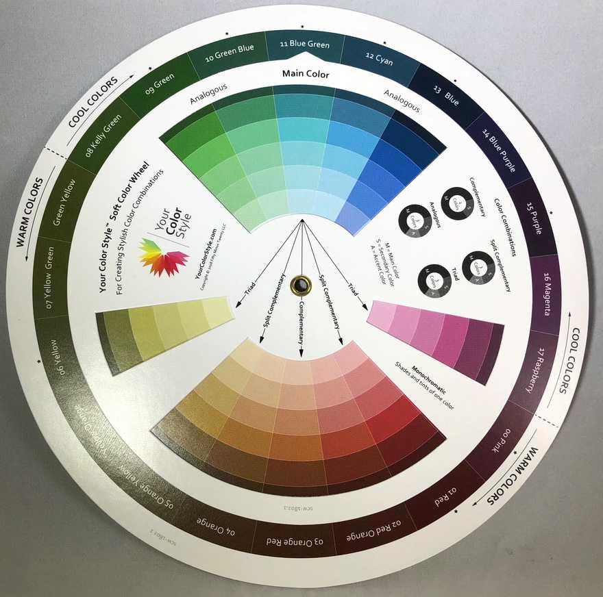появилось цветовой круг сочетания в одежде фото услуги