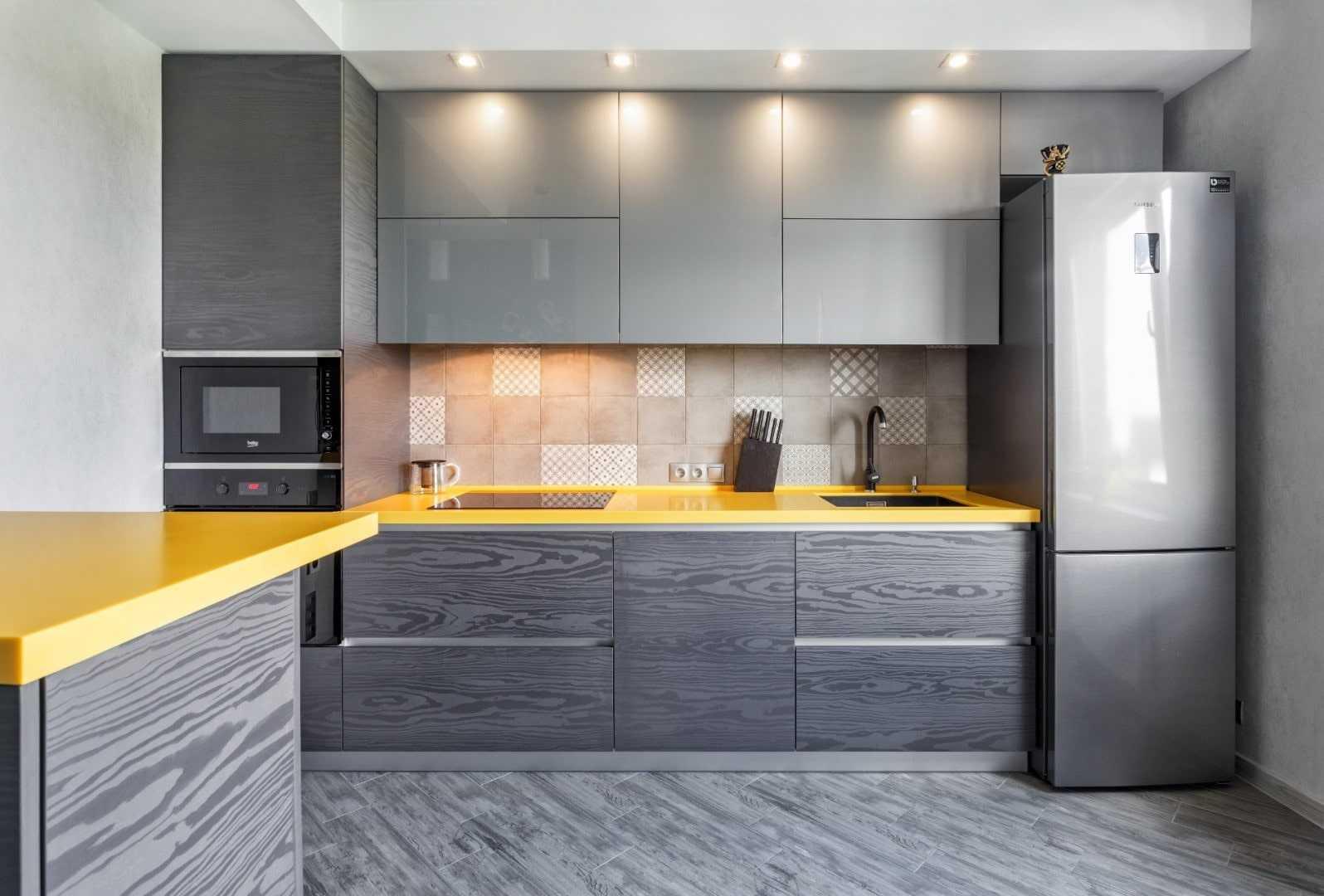 Серая кухня в интерьере - оттенки и цвета в дизайне +60 фото