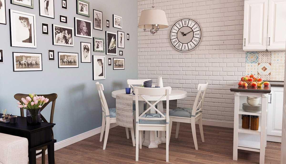 Как оформить стену над обеденным столом?   домфронт