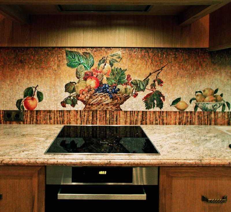 Настенная плитка для кухни: разновидности и рекомендации по использованию