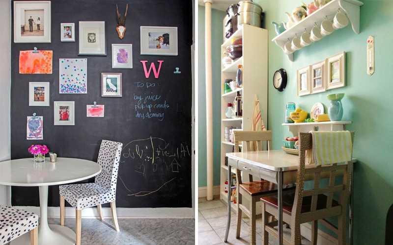 Оформление стен на кухне – советы дизайнера   интерьерные штучки
