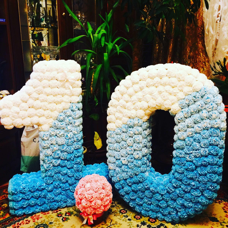 Цифры на день рождения — примеры и способы украшения