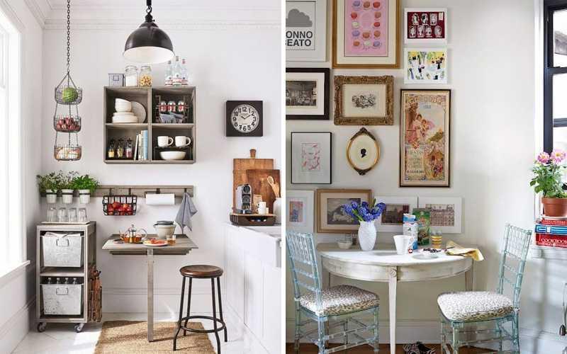 Декор стен на кухне – 70 фото и 12 супер-идей