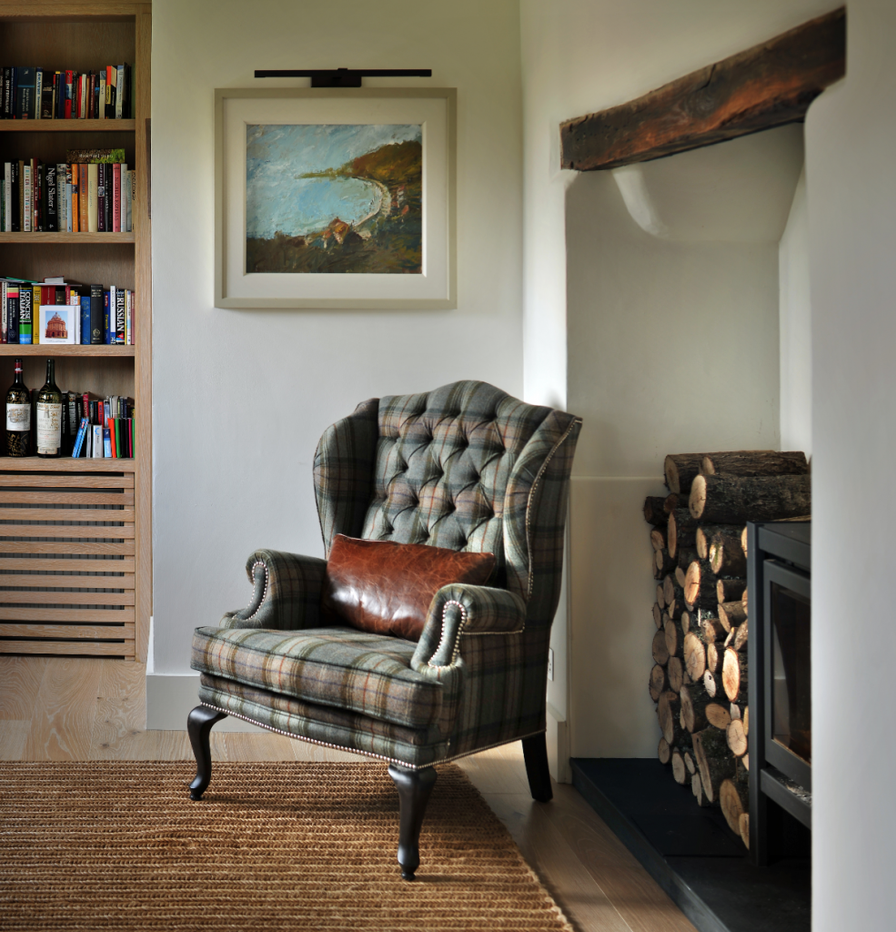 кресла в английском стиле фото