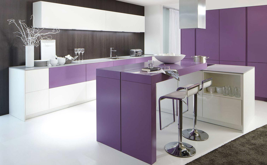 Розовая кухня: 90 фото идей дизайна интерьера кухни розового цвета и гарнитура
