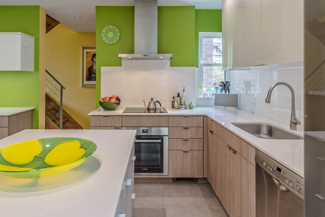 Кухня в фисташковом цвете: умиротворяющий интерьер   ivybush