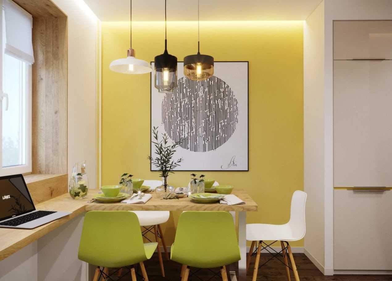 Как оформить стену над обеденным столом?