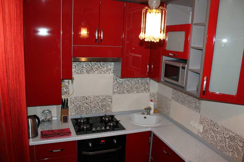 Дизайн кухонного гарнитура для маленького помещения