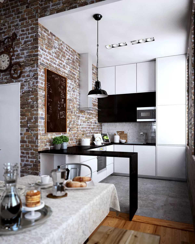 Обои под кирпич, имитация кирпичной кладки под белый и красный в интерьере, на кухне, в спальне, прихожей и гостиной, фото и видео. – otdelkasteny.ru