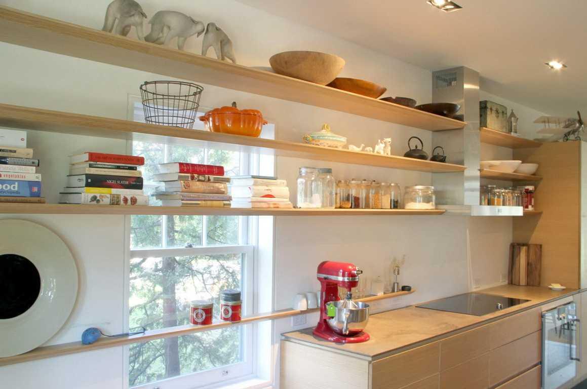 Угловые полки для кухни: виды и особенности использования