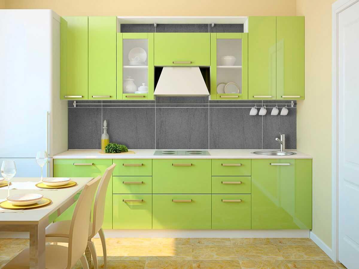 Кухня фисташкового цвета: правила сочетания в интерьере и идеи для дизайна