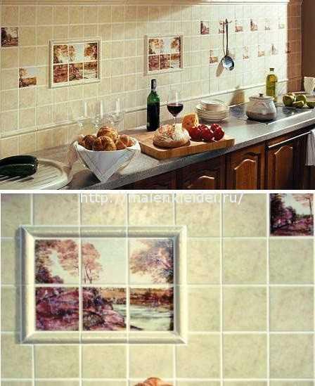 Плитка настенная для кухни: как снять без перфоратора и уложить и ухаживать
