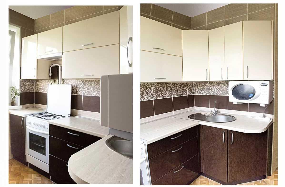 Дизайн маленькой кухни 2020 | фото реальных интерьеров