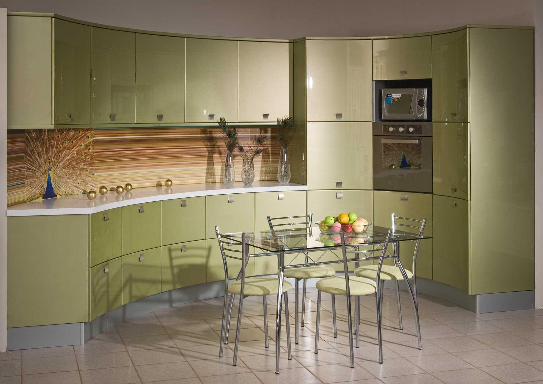 Кухня в фисташковом цвете: умиротворяющий интерьер