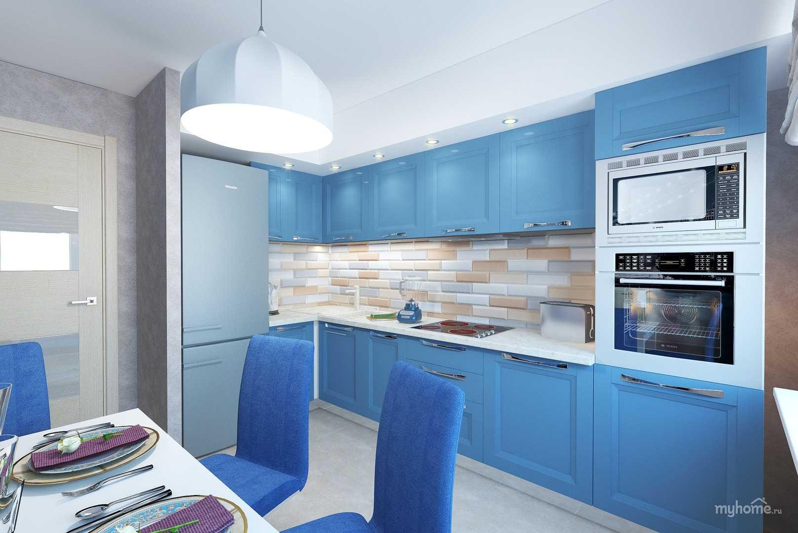 дизайн кухни в синих тонах фото задача запада оторвать