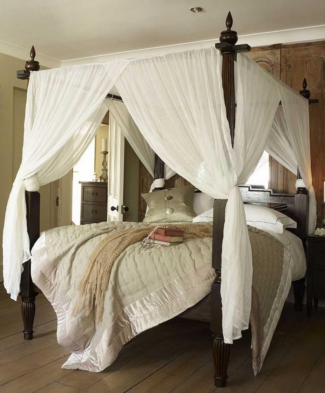 Балдахин над кроватью своими руками – мастер-класс пошагово