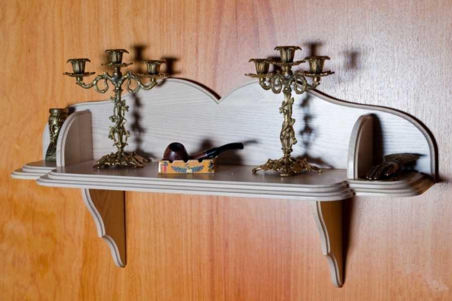 Угловая полка своими руками 230 фото: в ванную, на кухню или в прихожую.
