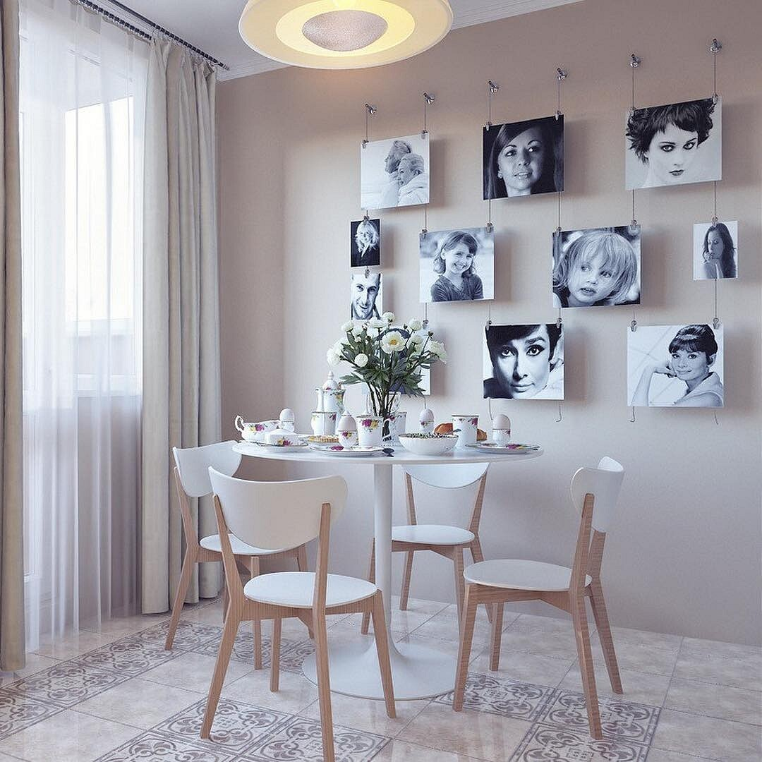 Оформление стен на кухне – советы дизайнера
