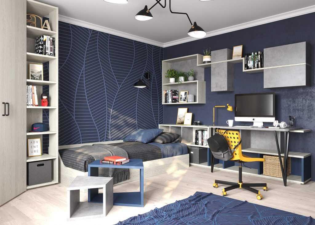 . дизайн подростковой комнаты: как выбрать обои и мебель