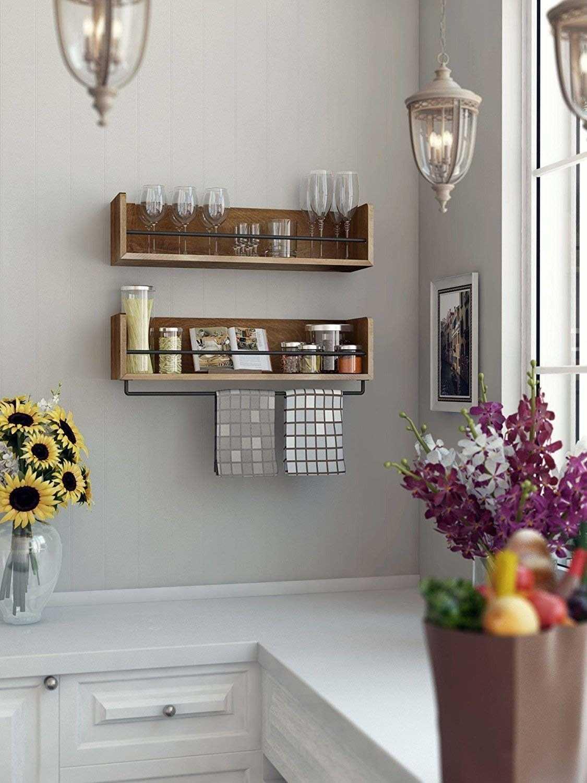 декоративные полки на кухню фото проверили реальных